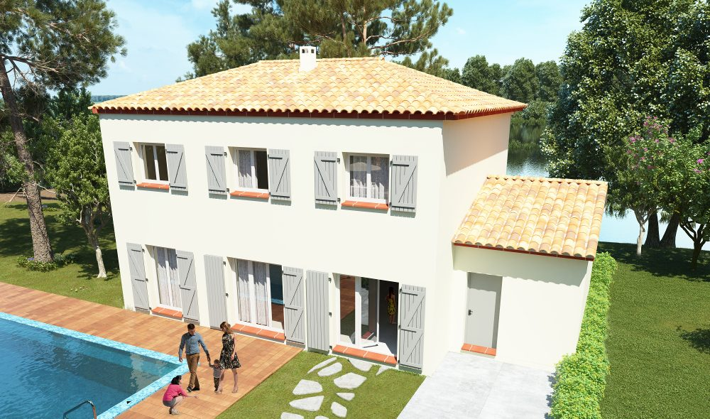 ARA est une maison à étage de type bastide et personnalisable pour votre confort