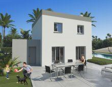 Modèle de maison moderne