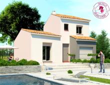 Villa neuve à étage de 92m² située à 25 min de Montpellier