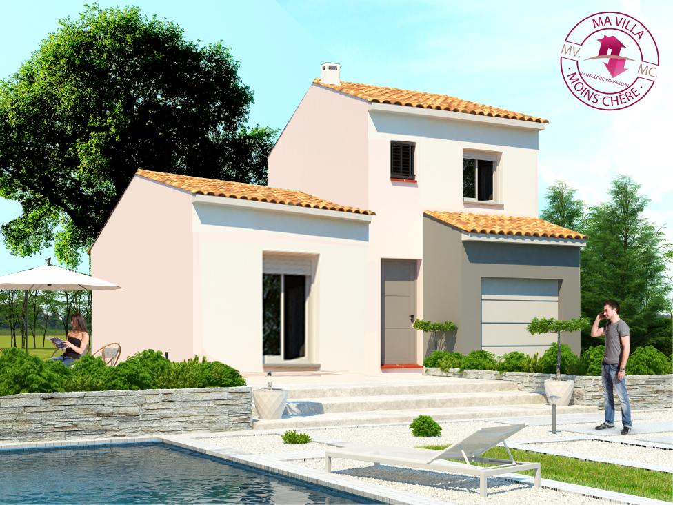 Villa 5 pièces 90 m²