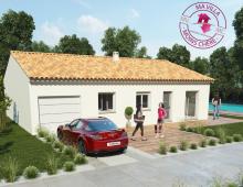 Villa neuve de plain-pied à Roujan