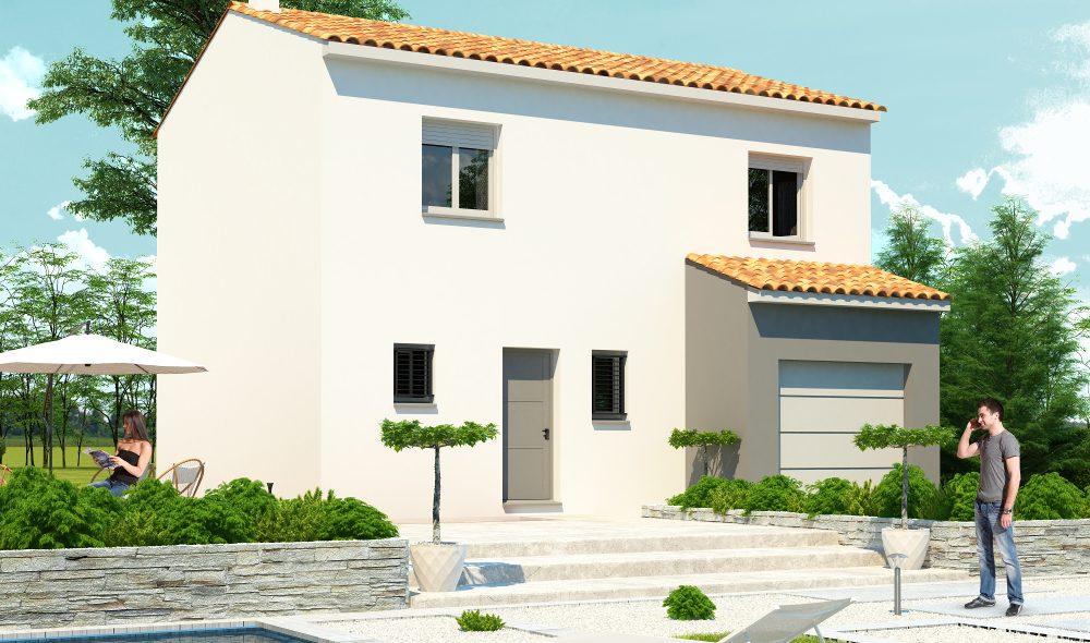 Vous souhaitez construire une maison à étage, chez ma villa moins chère nous vous proposons une large gamme de modèle 3D.
