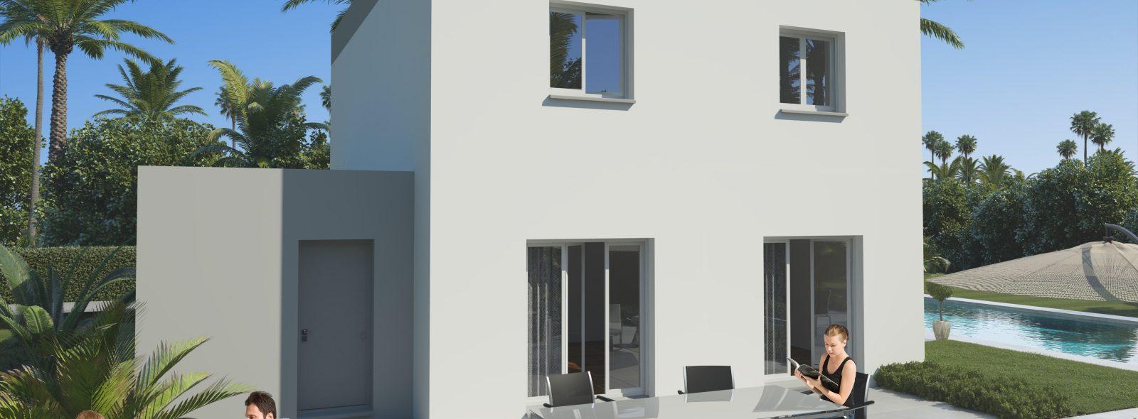 Modèle de maison disponible à la construction chez Ma Villa Moins Chère