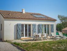 Maison moderne à Moussan dans l'aude en Occitanie
