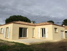 maison familiale à Maraussan dans l'Hérault en Occitanie