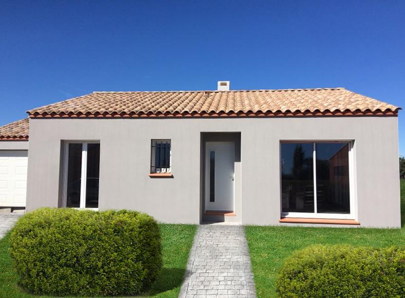 Villa plain-pied à Servian dans le département de l'Hérault en Occitanie