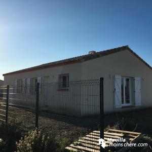 maison neuve Salles-d'Aude