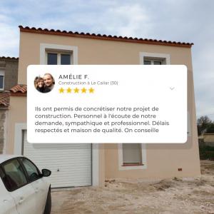construction maison Le Cailar
